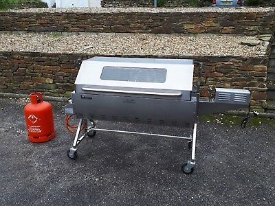 Hog Roast Machine Rotisserie Gas