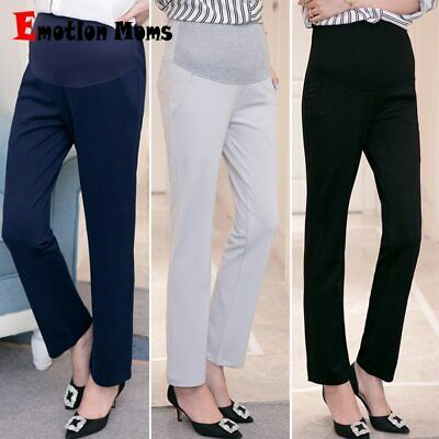 Moms Maternity Clothes Pants Pregnancy Pants Trousers Pregnant Women