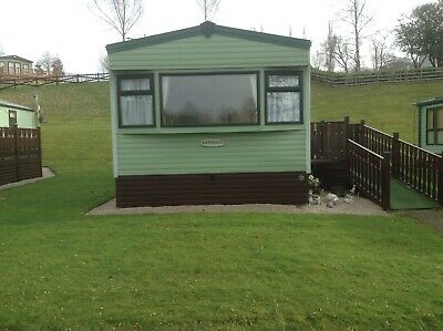 Static caravan holiday home in Cumbria near the lake district