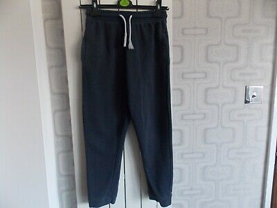Next Boys Blue Jogging Tracksuit Bottoms age 10 Years