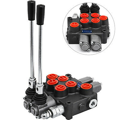 Prince Manufacturing Wolverine 5 Five Spool Hydraulic Valve 8GPM MB51BBBBB5C1
