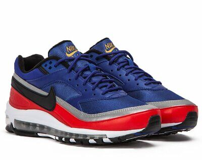 the latest dda34 d58ce Nike Air Max 97 bw Dp Royal Blue university Red Sneakers Scarpe Uomo Ao2406