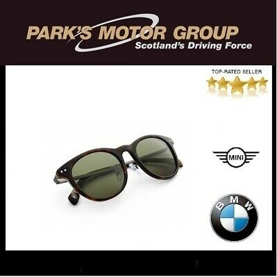 f44040b3601 New Genuine BMW Sunglasses Unisex Stainless Steel Green Lenses 80252454627