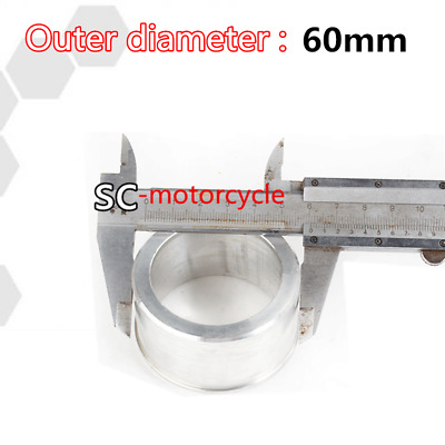 60MM TO 51MM Motorcycle Exhaust Pipe Adapter Hardware