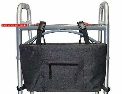 Walker Bag with Soft Cooler Black Water Resistant Tote with Temperature Controll