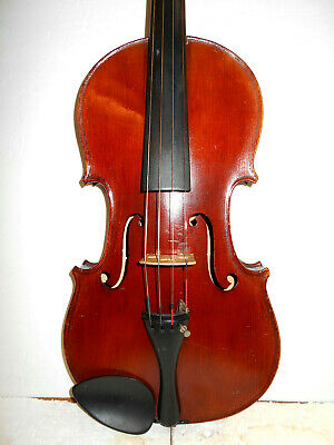 "Antique Vintage Old  French ""Wurlitzer - Conservatory"" Full Size Violin - NR"