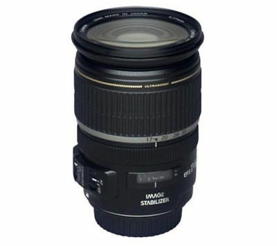 Canon EF-S Camera Zoom Lens 17-55mm f/2.8 IS USM Auto Manual Black