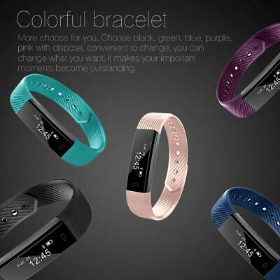 LETSCOM Fitness Tracker, Fitness Tracker Watch with Slim Touch Screen pedometer