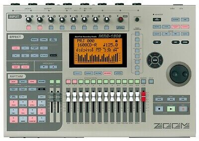 Zoom Mrs-1608 Cd Multi Track Digital Hard Drive Recording Studio 16 802 1266 R24
