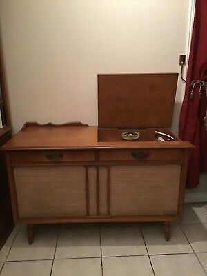 1960S MID-CENTURY MODERN Packard Bell Stereo Console
