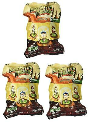 Gravity Falls Series 1 Domez Blind Bag Collectible Minis - Lot of 3