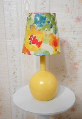 Barbie Yellow Flower Ball Lamp