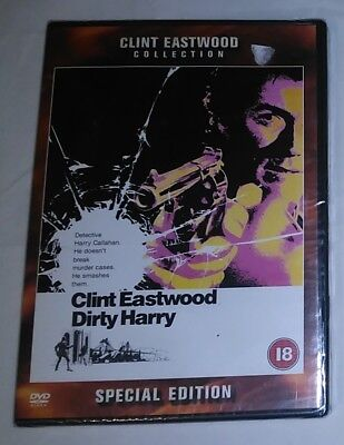 Dirty Harry (DVD) Clint Eastwood Collection