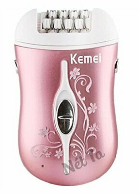 Kemei KM-6031 - 3 in 1 Beauty Tools Kit for Women with Epilator, Callous Shaver