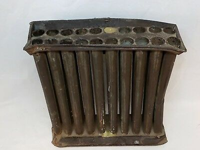 Rare 20 Tube Candle Mold Antique Primitive Iron Or Tin