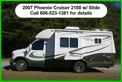 2007 Phoenix Cruiser 2100 W/Slide Used Class C Motor Home Gas Coach Ford RV MH