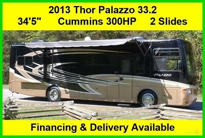2013 Thor Motor Coach Palazzo Used Diesel Pusher RV Motor Home Motorhome MH RV