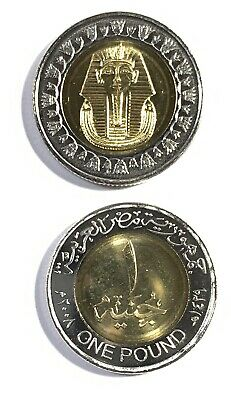 2008 Egypt King TUT Uncirculated One Coin