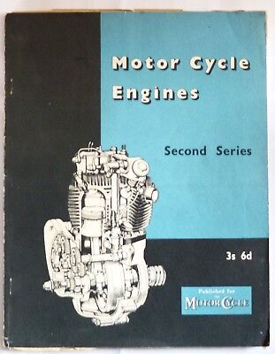 Motorcycle Engines drawings and descriptions 1955