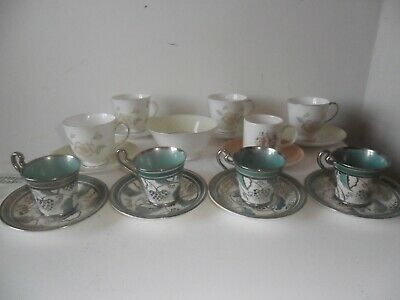 Grays Pottery Lustre 1930 4 Cups Saucers 6 Susie Cooper Tea Cups Saucers & Bowl
