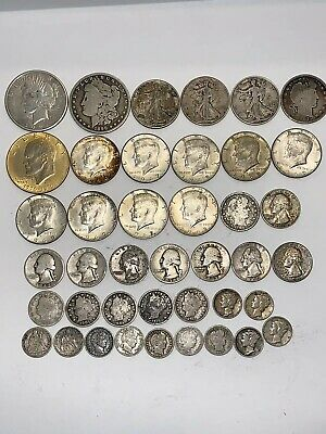 lot of silver US coins