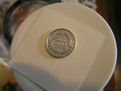 1899 SILVER BARBER DIME AU CONDITION Nice Details Great Looking Coin Good Price!