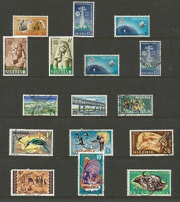 Nigeria - Small Pre Decimal  Collection Mixed Mint And Used Sets To £1.00