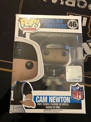Figurine Funko Pop! NFL : Carolina Panthers : Cam Newton - Noir