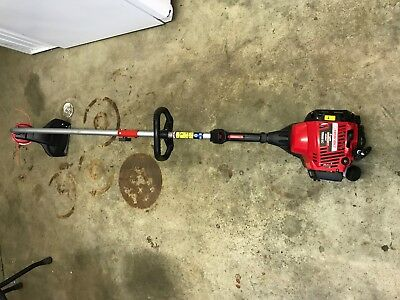 WEED EATER CURVED Shaft Gas String Trimmer In 25cc 16-Inch