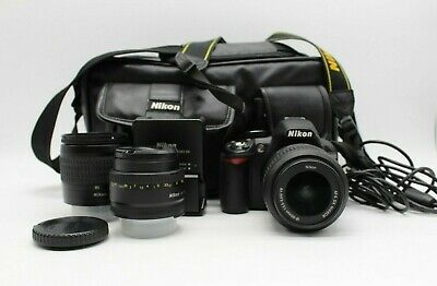Nikon D3100 14.2MP Digital SLR Camera Custom Bundle W/ 3 Lenti e Altro!