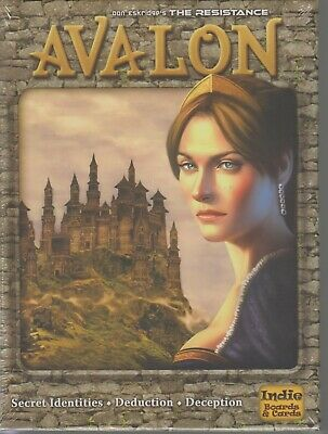 Avalon The Resistance Indie Boards & Cards NEW