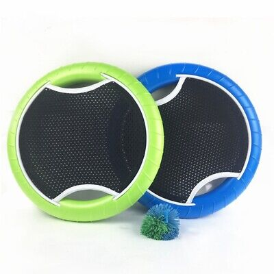 Slap Ball Hand Trampoline Flying Disk Bounce Game with Rubberband Bouncy Ball