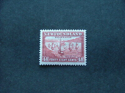 Newfoundland 1938 48c red-brown P13½ SG228c MM