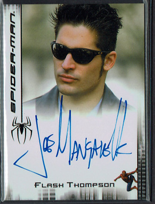 2007 Rittenhouse Spider-Man 3 Movie Joe Manganiello Autograph Auto Authentic