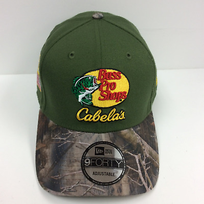 Ryan Newman  31 Bass Pro Shops cabela s New Era Cap Adjustable Osfm Green  72b00278588c