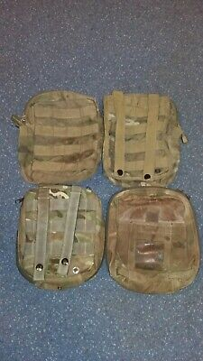 Army Molle Pouches X4 MTP First Aid X2 Utility Large X2