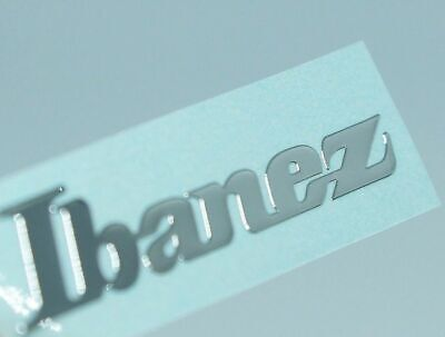 Ibanez Guitar Headstock Neck METAL Sticker premium