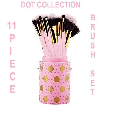Image result for BH Cosmetics Dot Collection 11 Piece Brush Set (Pink)