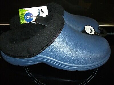 Wilko Dark Blue Garden Clogs/shoes size 6