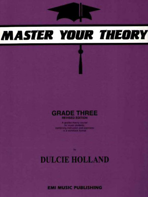 Master Your Theory AMEB Dulcie Holland - Grade 3