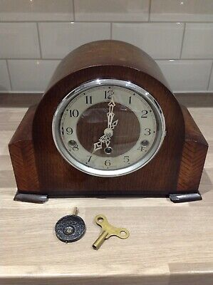 Smiths Enfield Chiming Mantle Clock Westminster Chimes