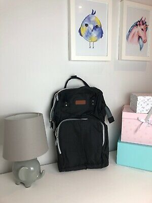 Maternity Baby Bag Nappy Diaper Changing Backpack Mummy Rucksack With USB Port