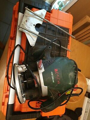 Bosch 1/4 inch router with fence 240v