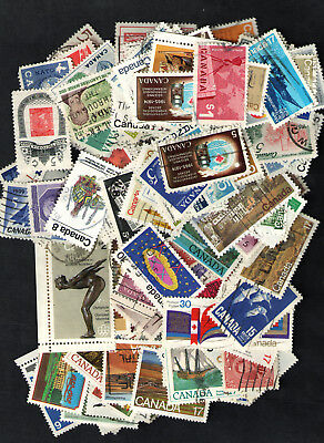 Canada  Used  Mixture of  200+  with Better Stamps  All Different