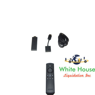 AMAZON TV FIRE Stick 2nd Generation with Alexa Voice and Remote (LY73PR)