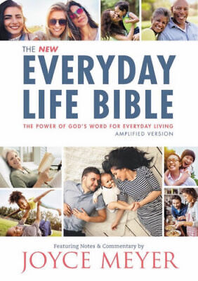 Amplified New Everyday Life Bible-Hardcover