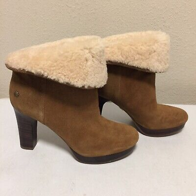 80a2bd15065 Women s UGG Chestnut boots Size 9 Style  1003128 dandelion ankle boot