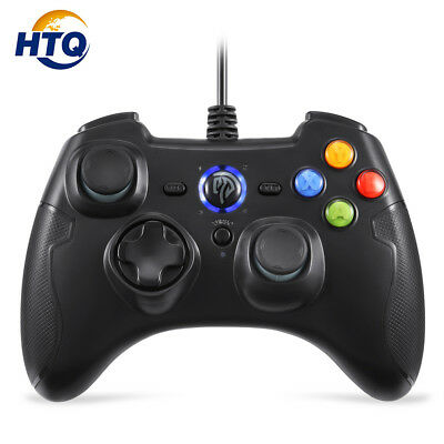 Wired Game Controller USB Joystick Dual Shock for PS3 PlayStation 3 Gaming