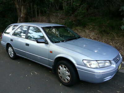 1999 Toyota Camry SXV20R Conquest Blue Automatic 4-Speed Wagon
