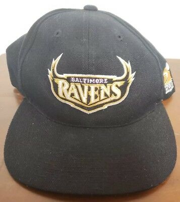01f6d6773 VINTAGE BALTAMORE RAVENS Sports Specialties Snapback Hat Football ...
